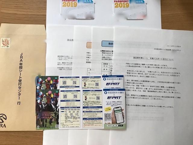 年間パスポートの同封物